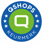 QShops Keurmerk logo